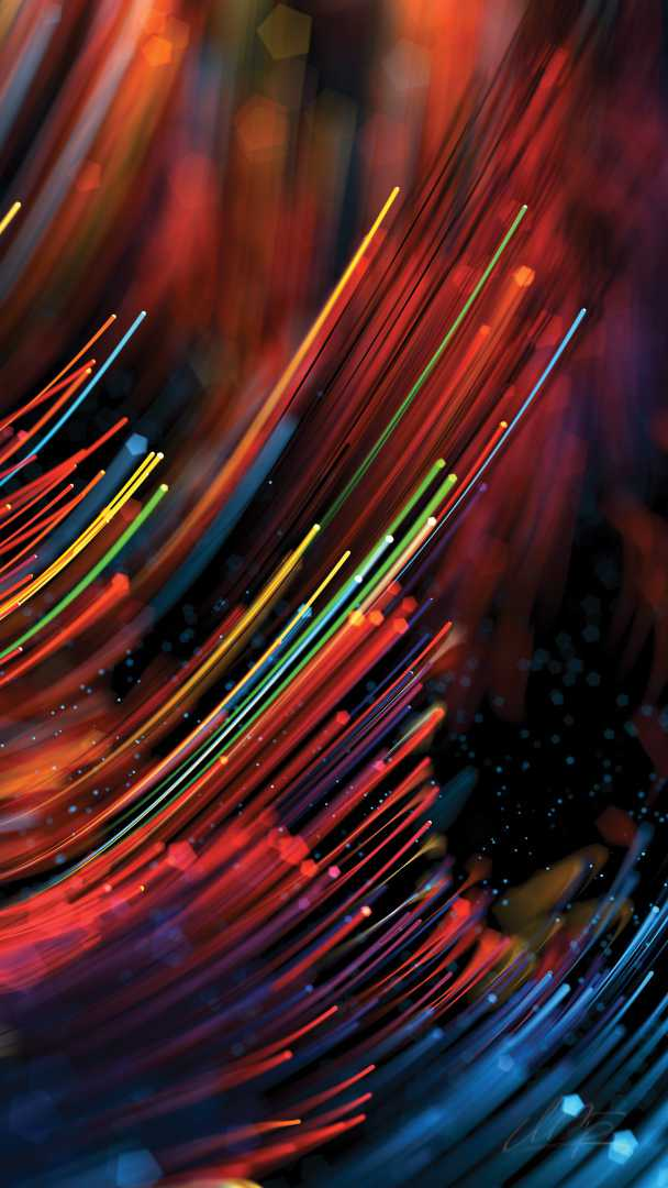 Colorful Animal Wallpaper Colorful Optical Fiber Cable Iphone Wallpaper Iphone