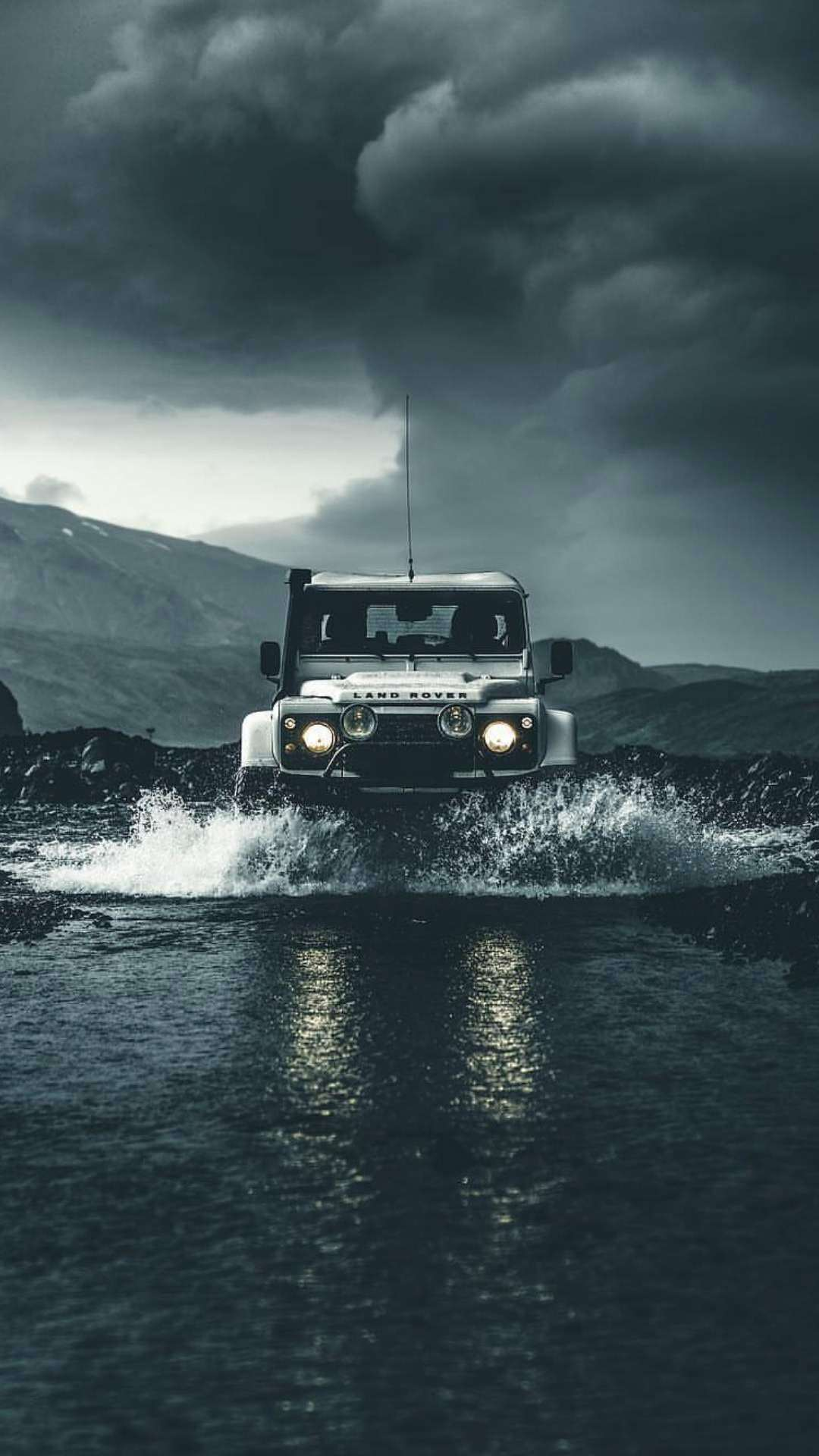 Cute Hristmas Wallpaper Land Rover Defender Off Road Iphone Wallpaper Iphone