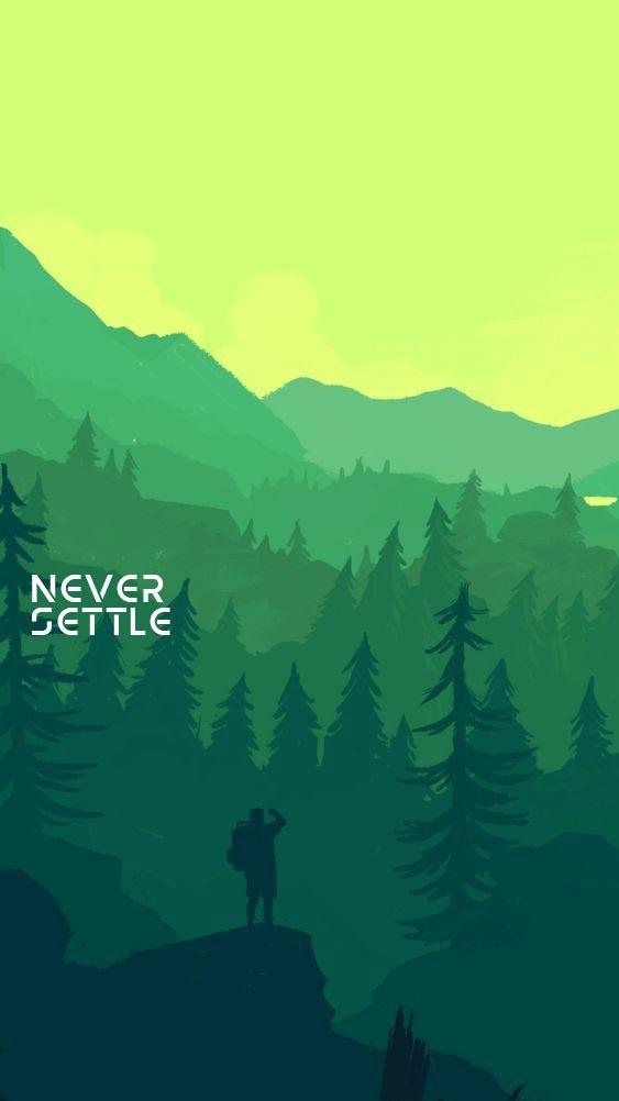 Animal Planet Wallpaper Never Settle Illustrator Art Iphone Wallpaper Iphone