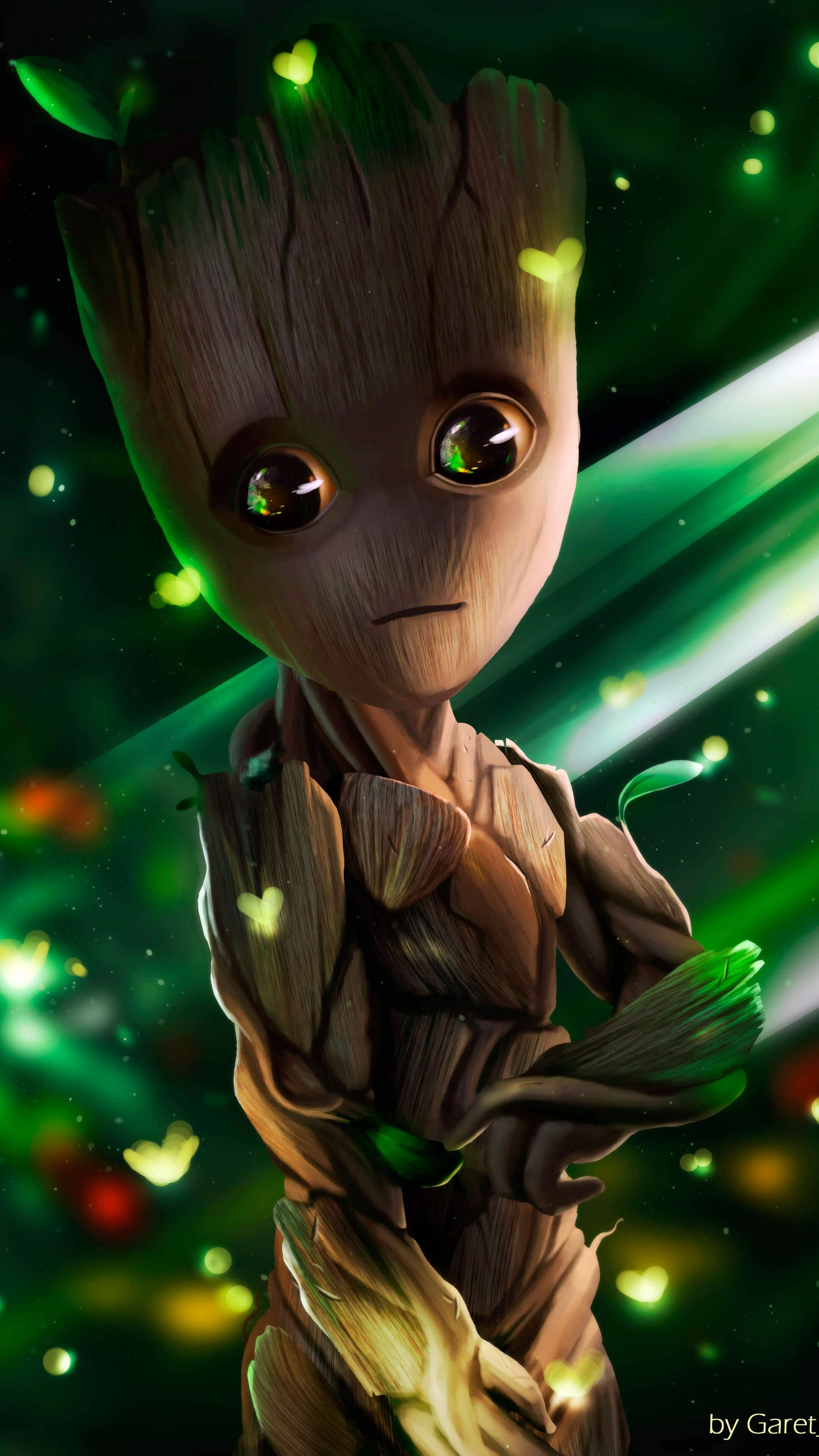 Cute Iron Man Wallpapers Baby Groot Iphone Wallpaper Iphone Wallpapers