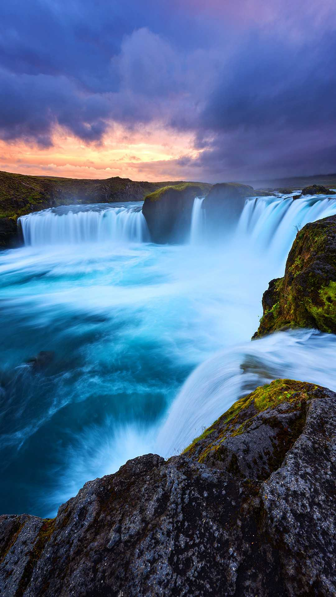 Beautiful Earth Waterfall Iphone Wallpaper Iphone Wallpapers