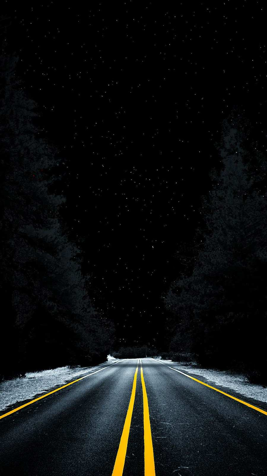 Pics Of Cute Christmas Wallpapers Night Road Space View From Earth Iphone Wallpaper Iphone