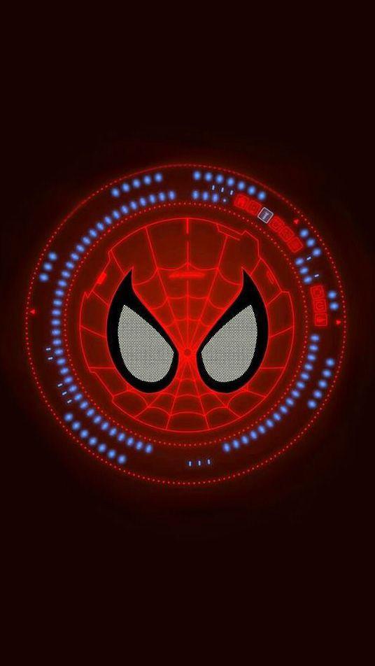 Joker Quotes Iphone Wallpaper Spider Man Neon Logo Iphone Wallpaper Iphone Wallpapers