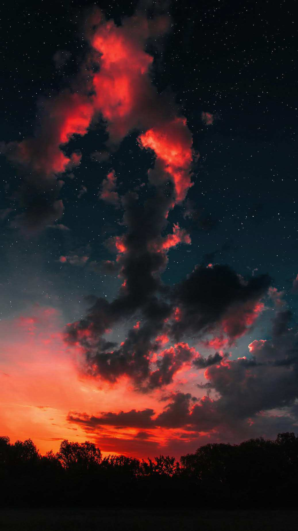Cute Wallpapers Hd With Quotes Sunset Clouds Space Stars Iphone Wallpaper Iphone Wallpapers