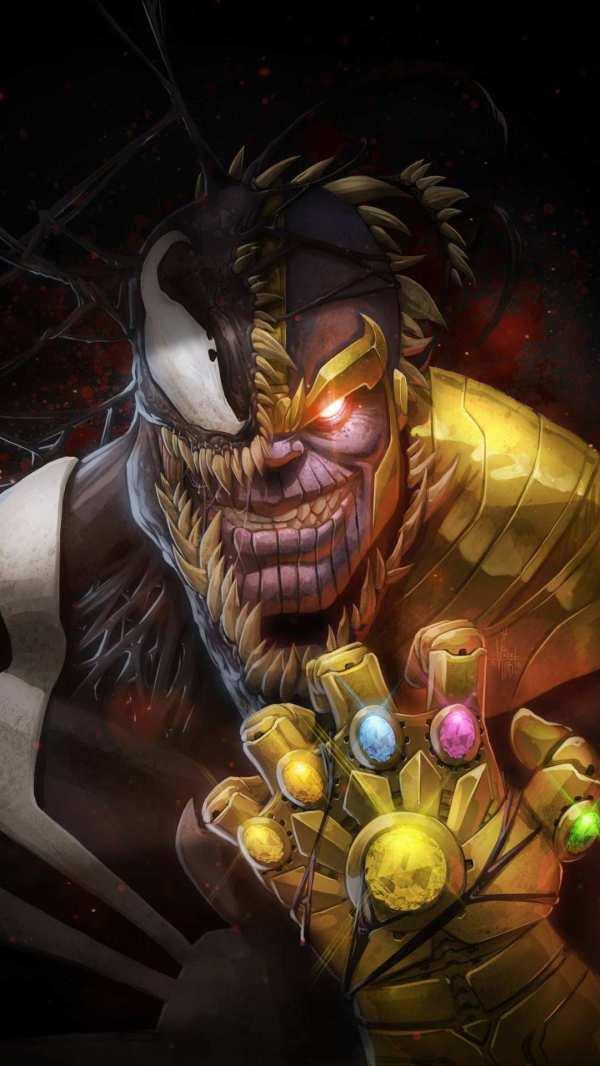 Thanos Venom Iphone Wallpaper - Wallpapers