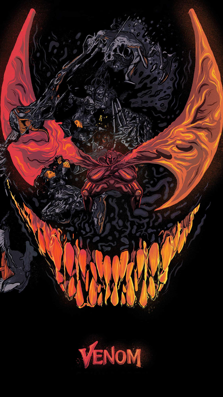 Halloween Phone Wallpaper Cute Venom Simbionte Iphone Wallpaper Iphone Wallpapers