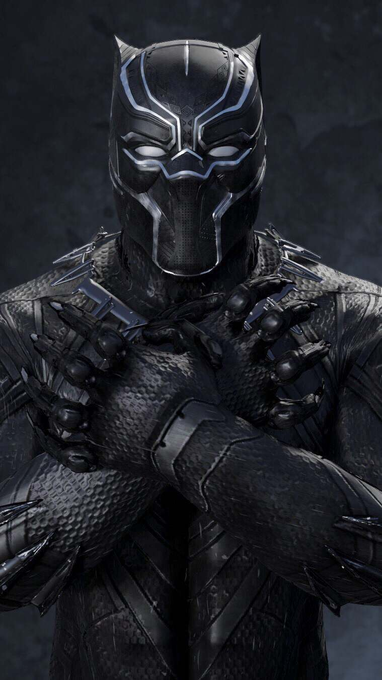 Time Wallpaper Quotes Black Panther Classic Black Suit Iphone Wallpaper Iphone