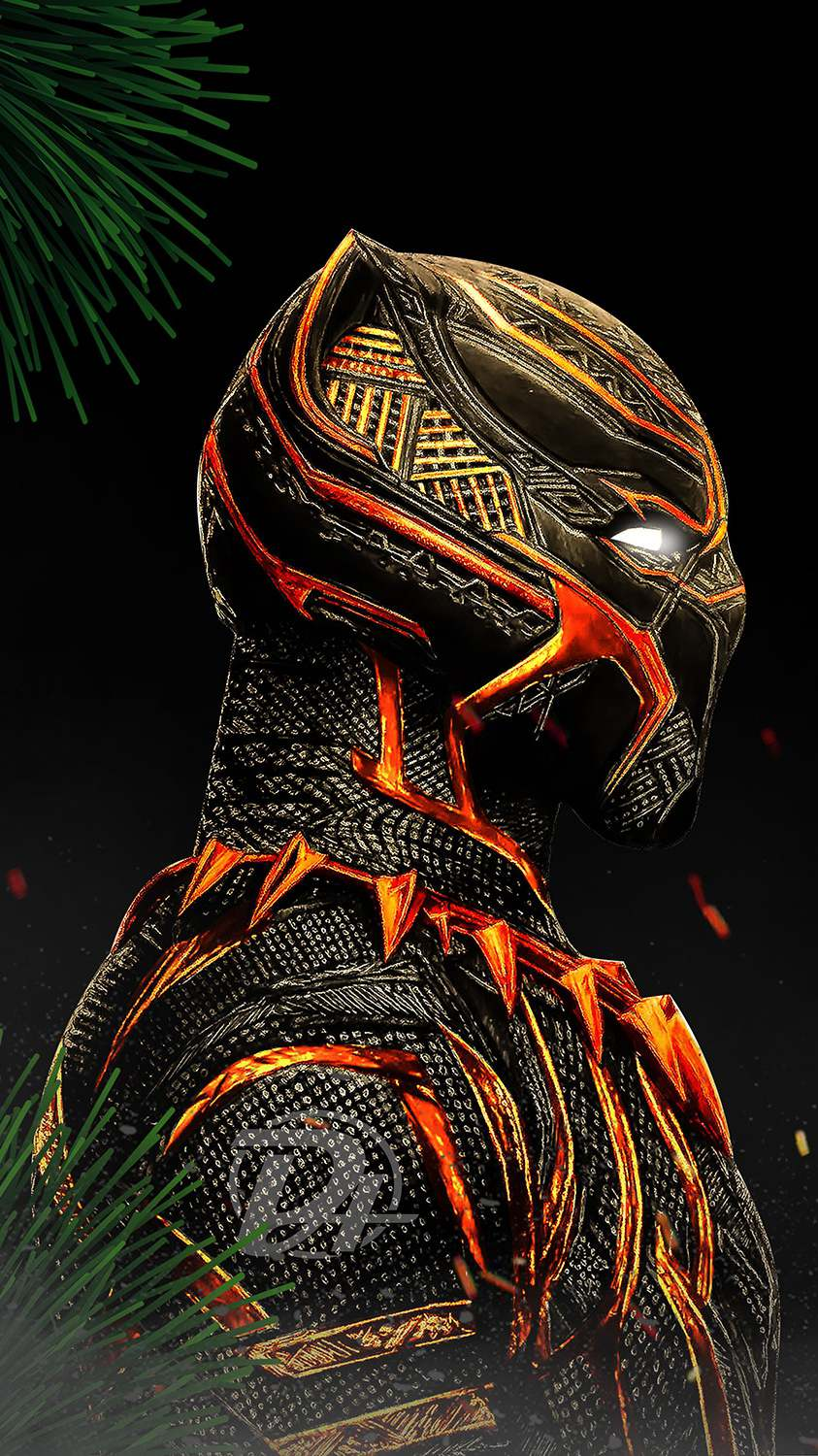 Artistic Quotes Wallpaper Black Panther Red Suit Iphone Wallpaper Iphone Wallpapers