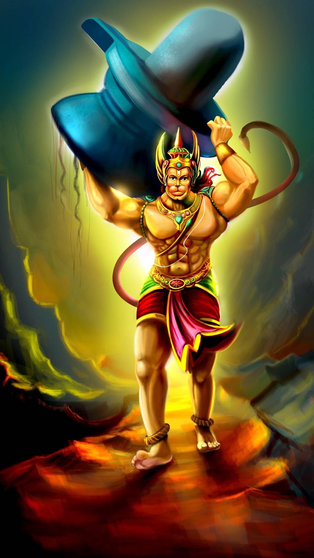 Hanuman Animated Wallpaper Lord Hanuman Iphone Wallpaper Iphone Wallpapers