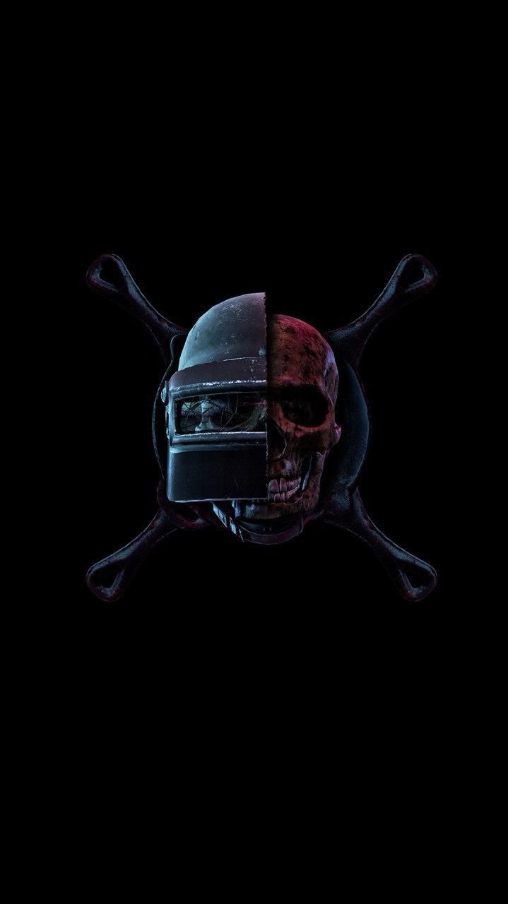 Iphone Wallpaper Skull Pubg Helmet Art Iphone Wallpaper Iphone Wallpapers
