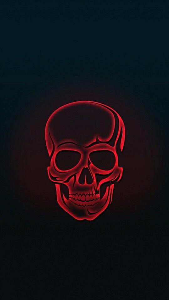 Deer Iphone Wallpaper Red Skull Amoled Iphone Wallpaper Iphone Wallpapers