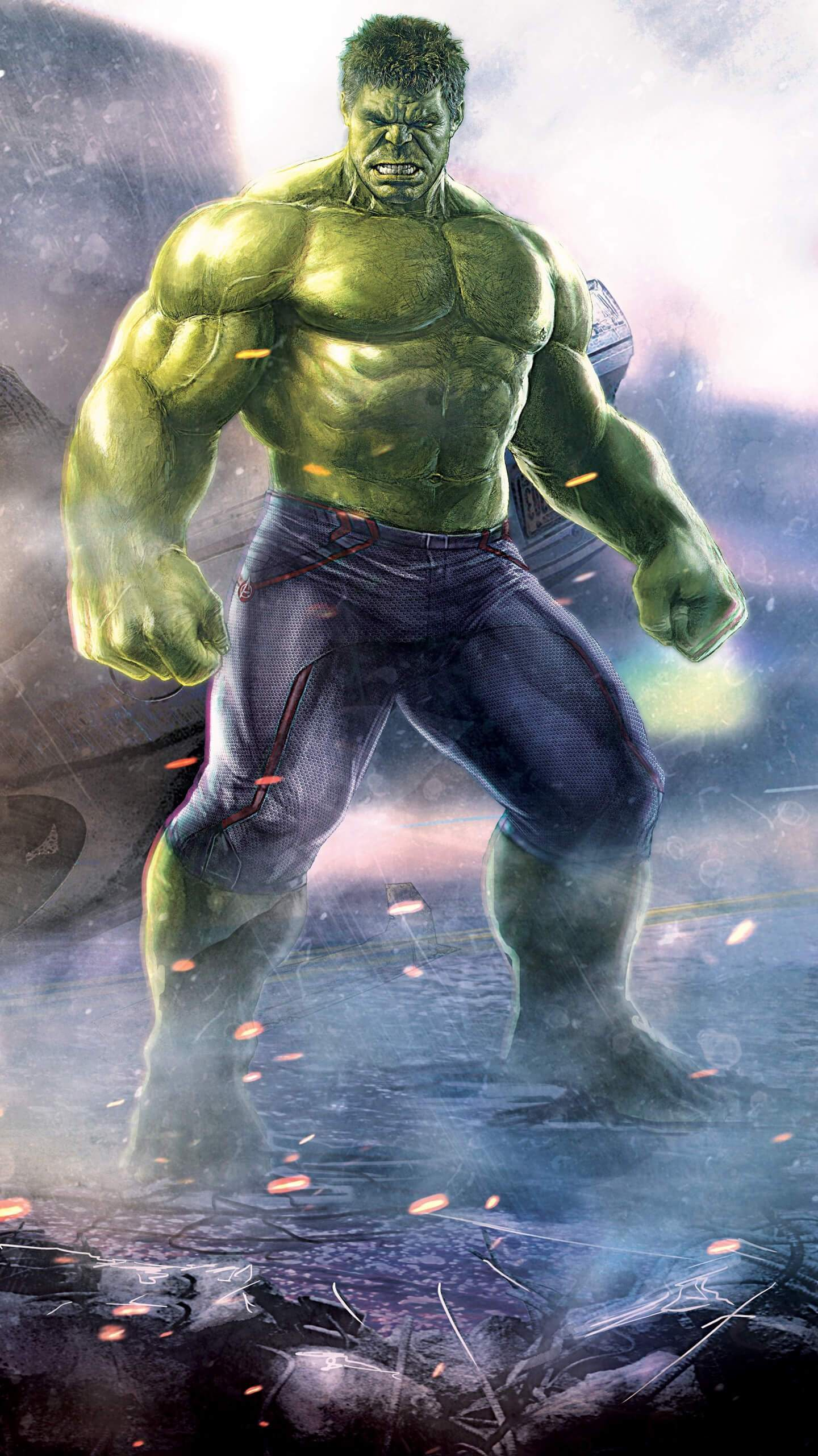 Cute Cartoon Wallpaper Iphone The Hulk Strongest Avenger Iphone Wallpaper Iphone