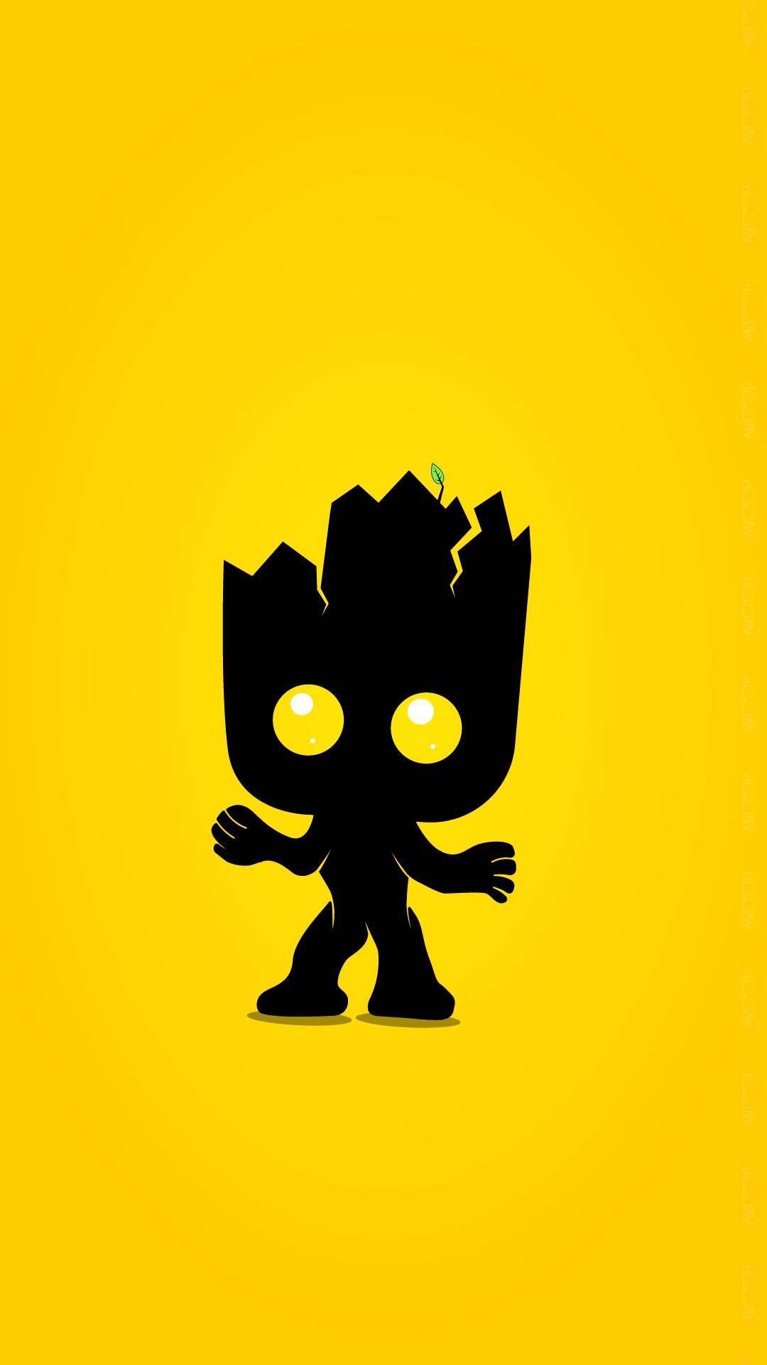 Cute Anime Wallpaper For Laptop Groot Minimal Wallpaper Iphone Wallpapers