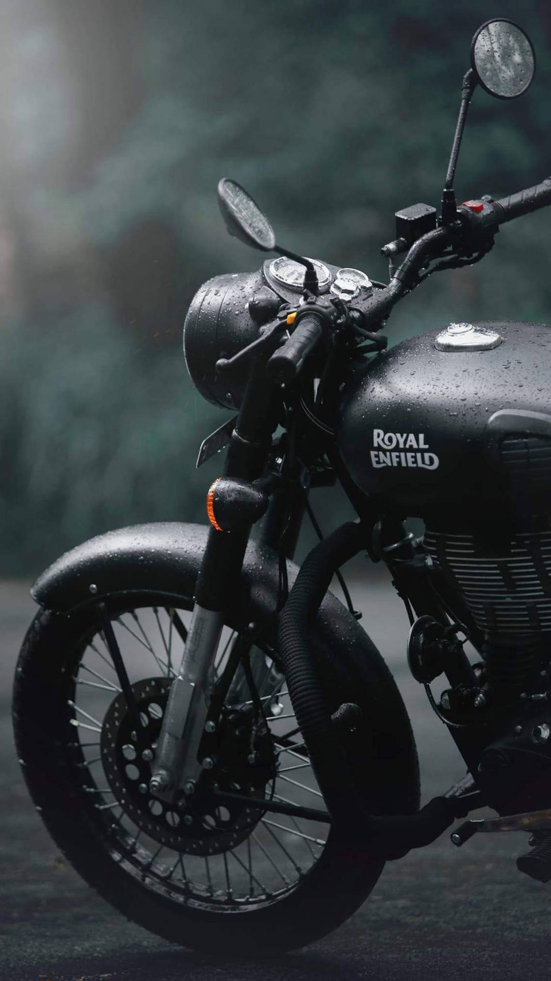 Awesome Phone Wallpapers Quotes Royal Enfield Stealth Black Iphone Wallpaper Iphone