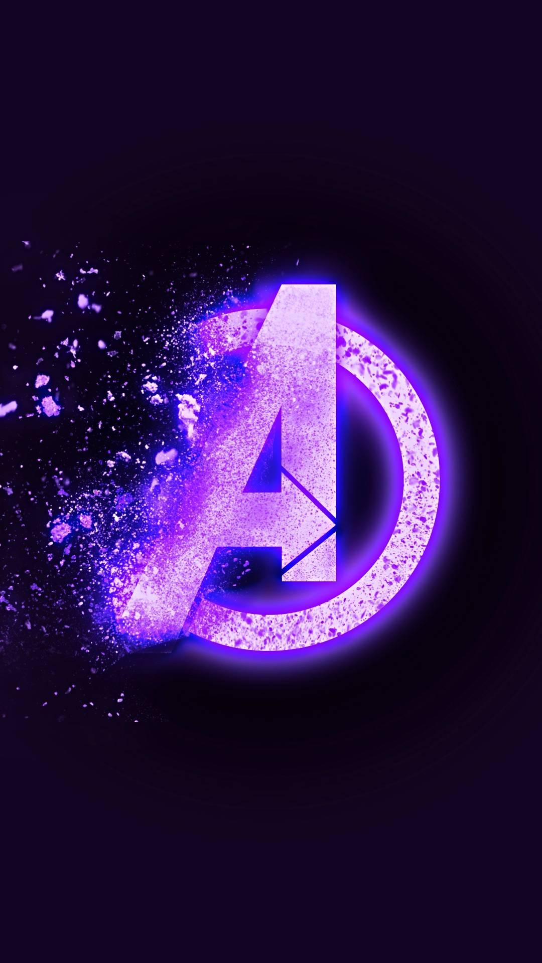 Avengers Endgame Dust Logo iPhone Wallpaper  iPhone