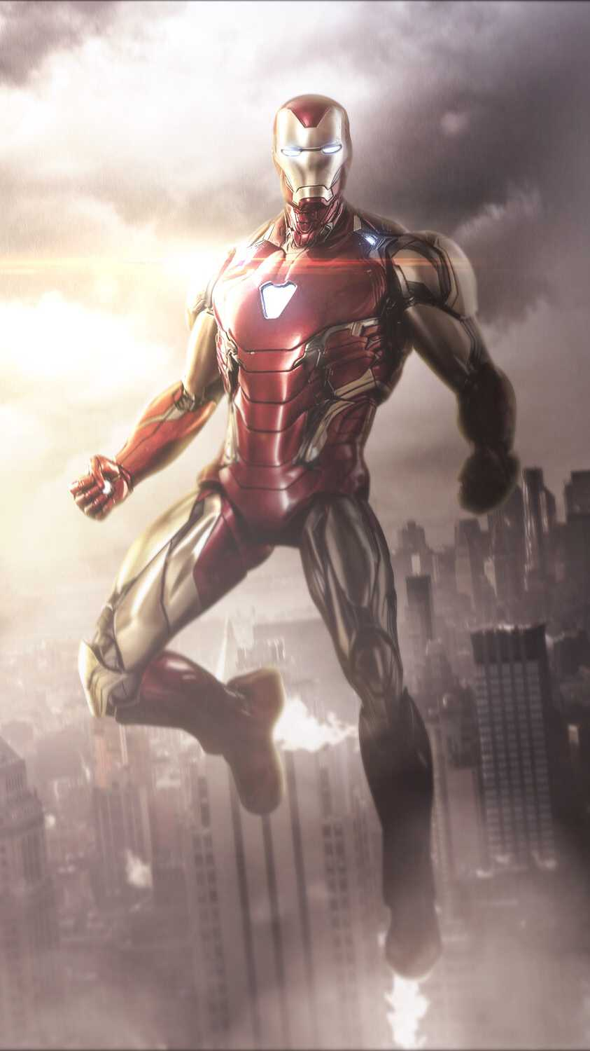 Artistic Quotes Wallpaper Iron Man Avengers Endgame Armor Iphone Wallpaper Iphone