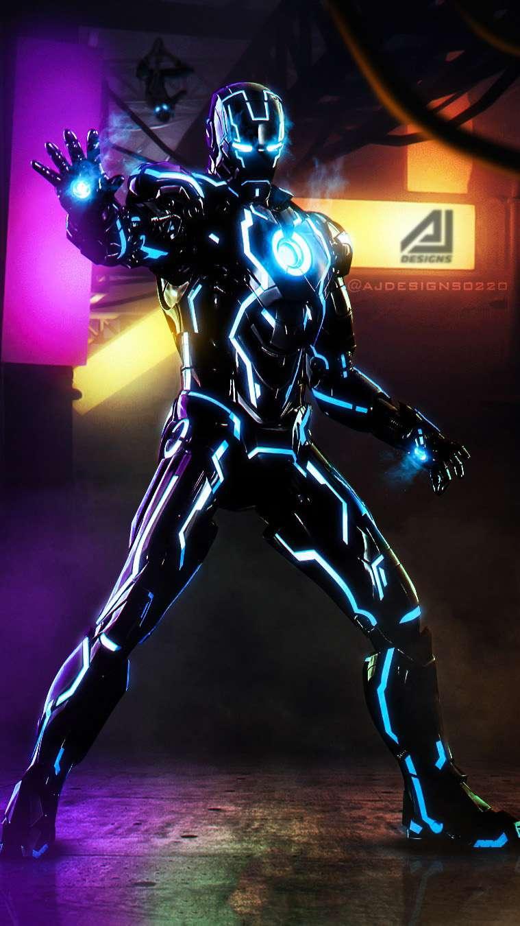 Animated Spider Wallpaper Iron Man Black Armor Iphone Wallpaper Iphone Wallpapers