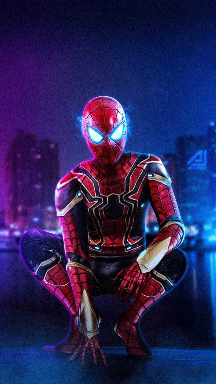 Cute Animal Wallpapers For Phones Iron Spider Armor Iphone Wallpaper Iphone Wallpapers