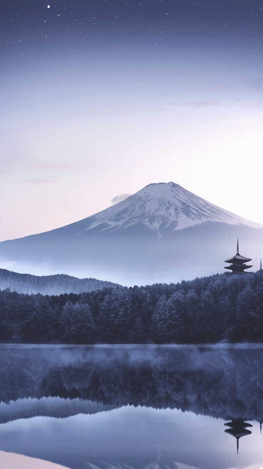 Love Cute Wallpapers With Quotes Japan Mount Fuji Morning Iphone Wallpaper Iphone Wallpapers