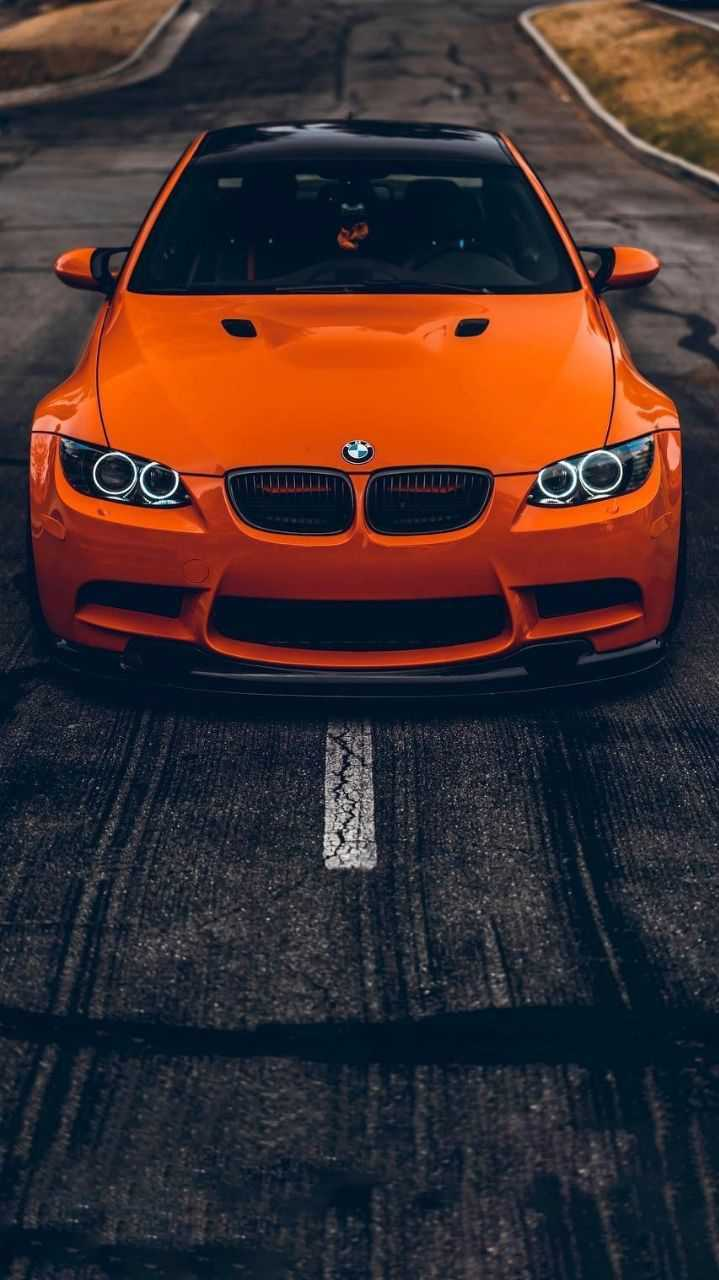 Cute Car Wallpapers Download Orange Bmw Supercar Iphone Wallpaper Iphone Wallpapers