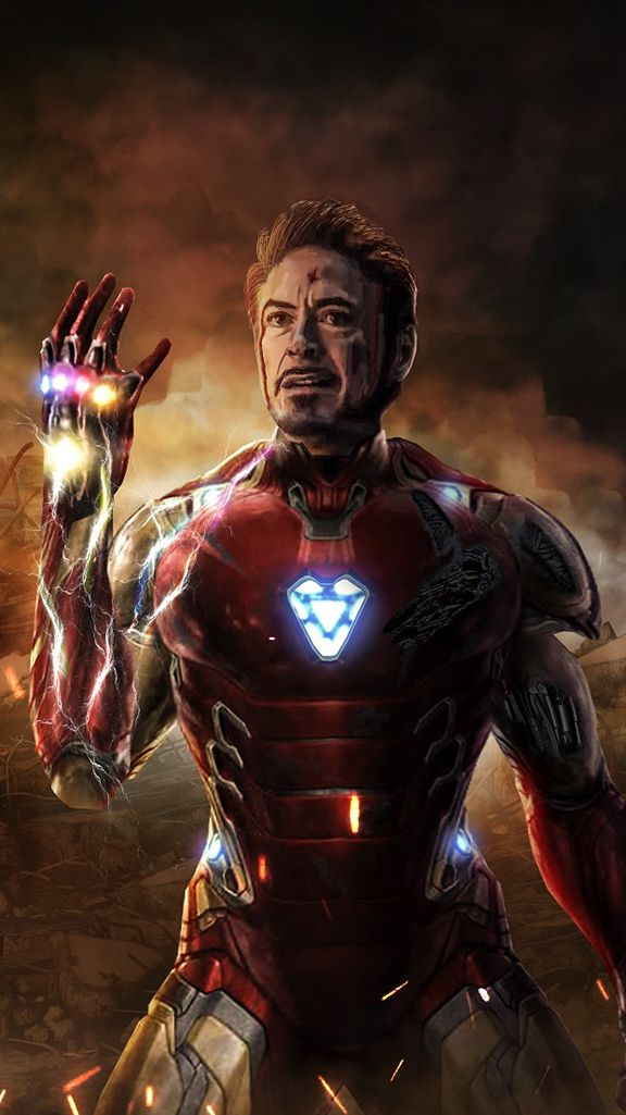 Quotes For Iphone Wallpaper Cute I Am Iron Man Infinity Stone Snap Iphone Wallpaper