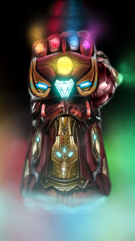 Cute Videogame Wallpaper Infinity Stones Iron Man Armor Iphone Wallpaper Iphone