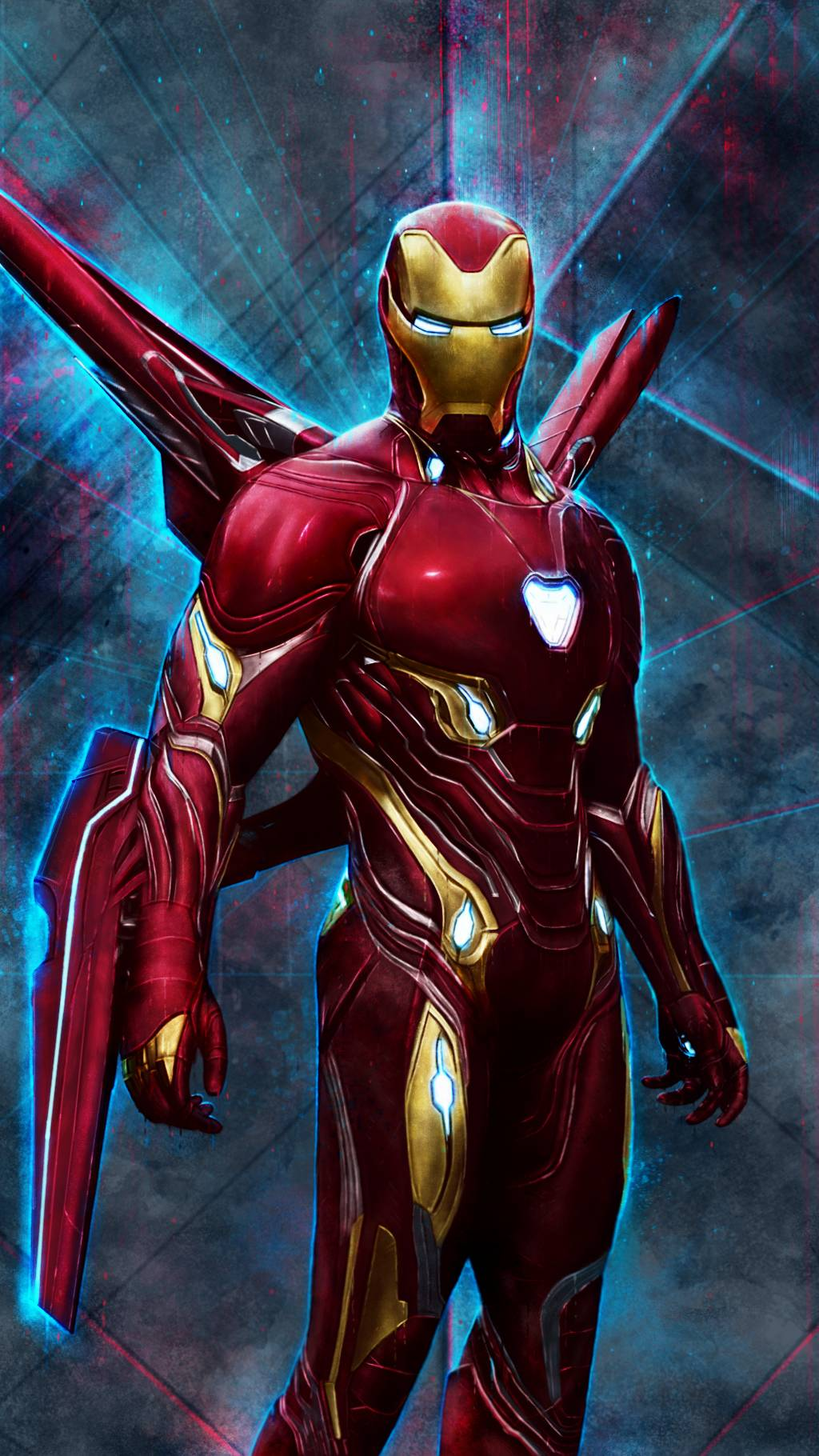 Cute Animal Wallpapers For Phones Iron Man Mark 50 Red Armor Iphone Wallpaper Iphone