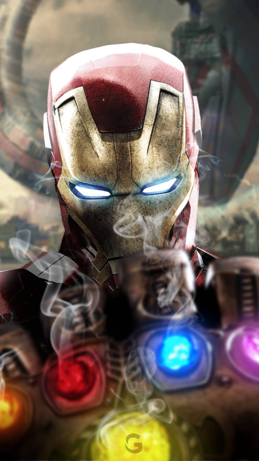 Arc Reactor Wallpaper Iphone Iron Man Vs Infinity Stones Iphone Wallpaper Iphone