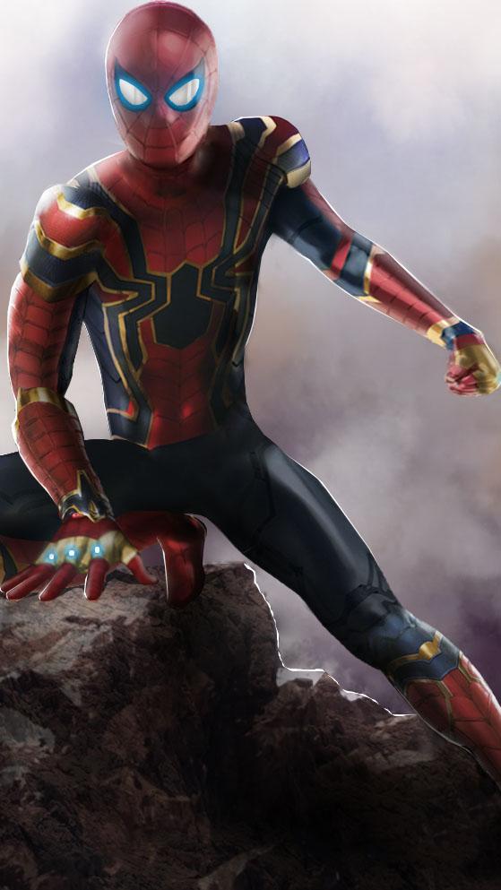 Cute Infinity Symbol Wallpaper Iron Spiderman Endgame Iphone Wallpaper Iphone Wallpapers
