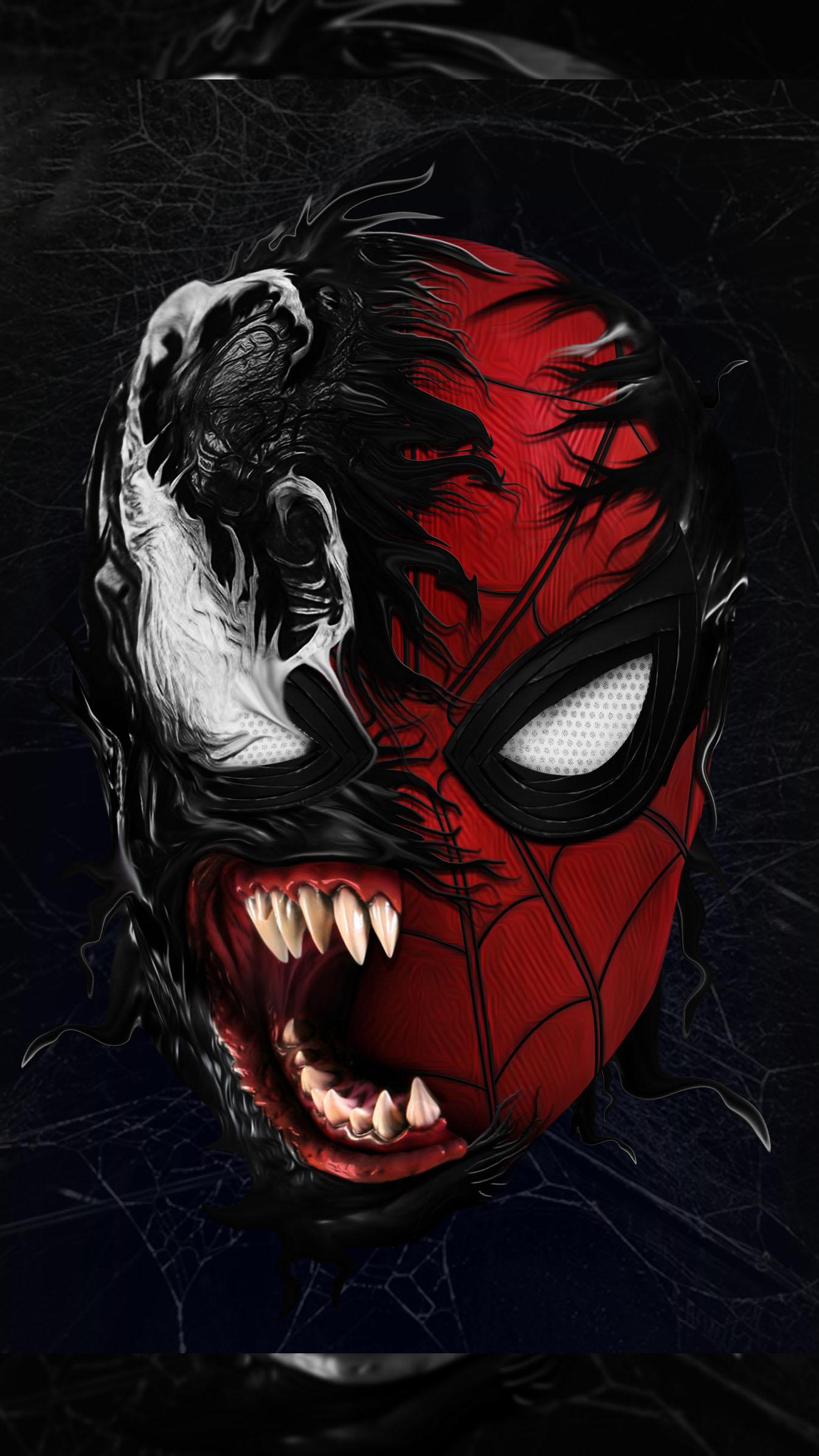 Cute Man Wallpaper Spidey Venom Iphone Wallpaper Iphone Wallpapers