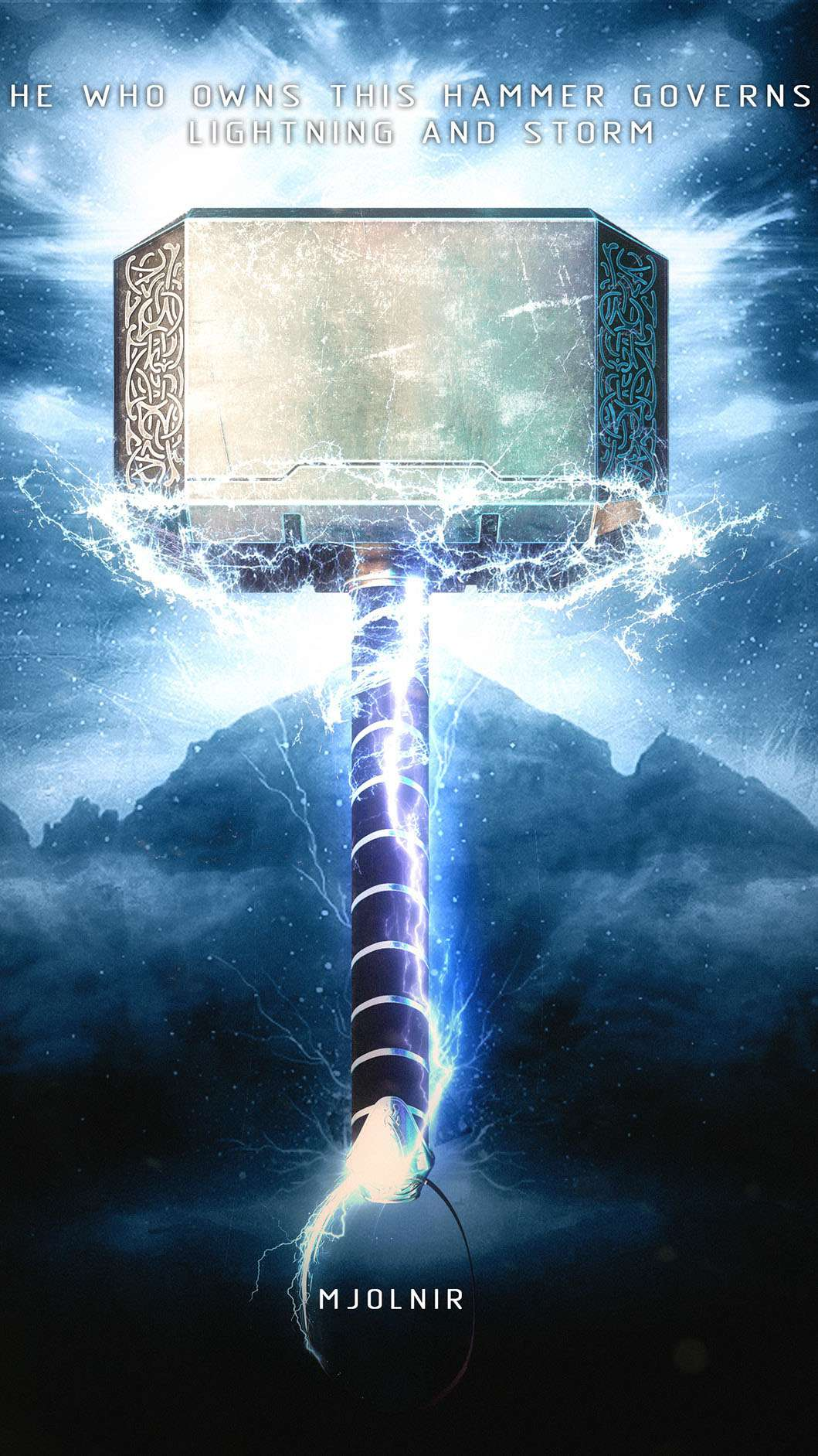 Cute Wallpapers For Desktop With Quotes The Mjolnir Iphone Wallpaper Iphone Wallpapers