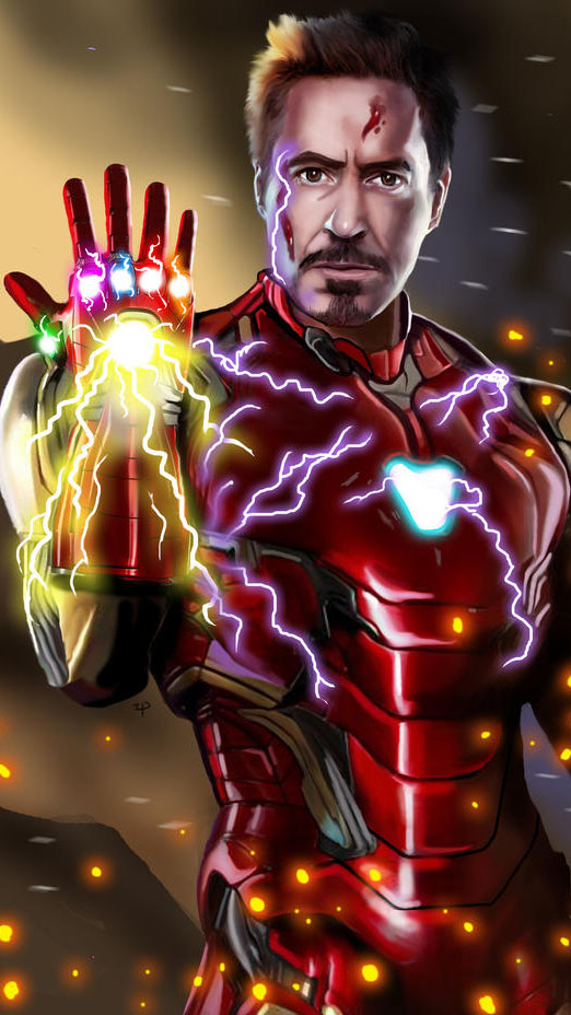 Anime Quotes Wallpaper I Am Ironman Sacrifice Snap Iphone Wallpaper Iphone