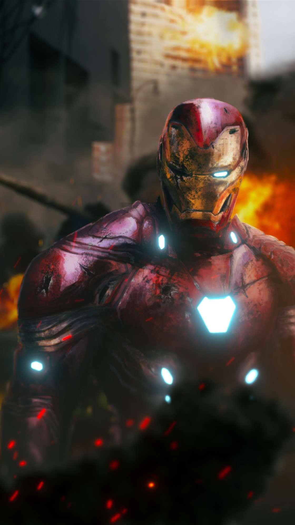 Cute Girly Infinity Wallpapers Iron Man Mark 50 Damaged Iphone Wallpaper Iphone Wallpapers