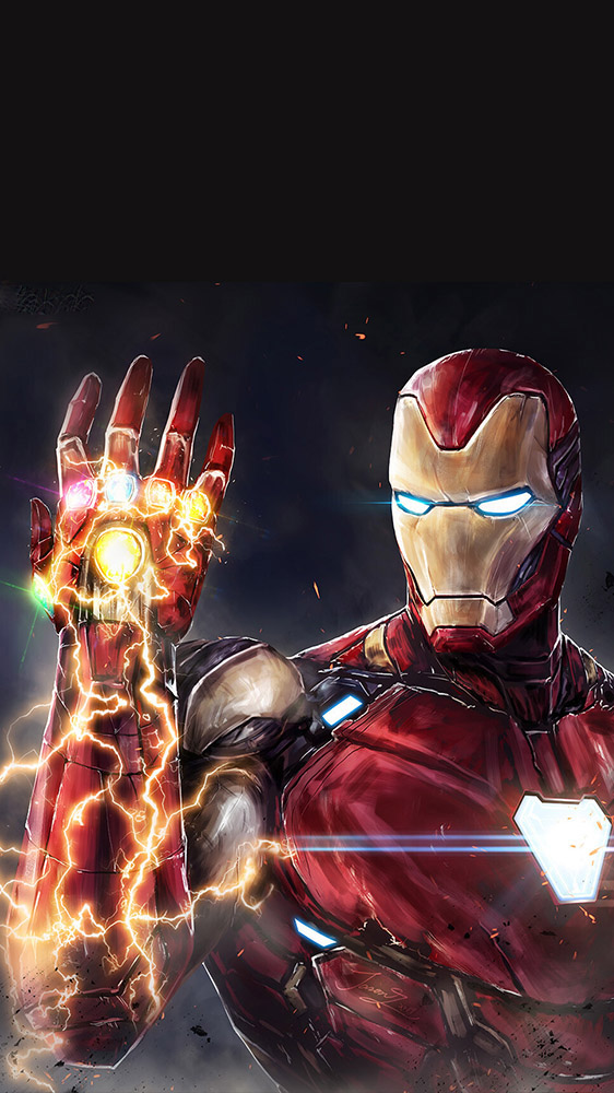 Iphone 5 Wallpapers Quotes Iron Man Snap Infinity Stones Iphone Wallpaper Iphone