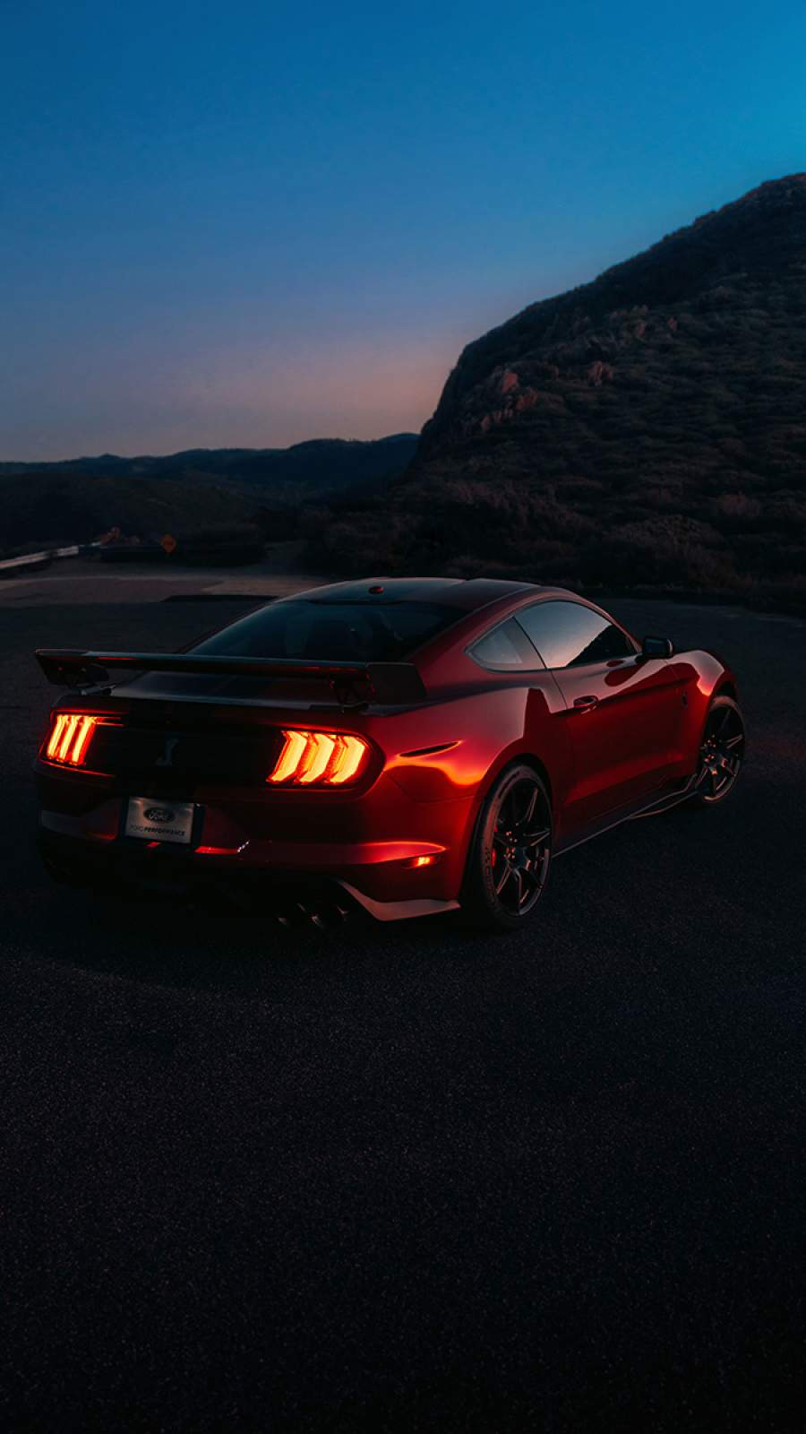 Artistic Quotes Wallpaper Ford Mustang Sunset Iphone Wallpaper Iphone Wallpapers