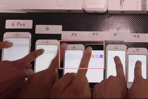 iPhoneのレスポンス速度を比較した動画を見て思ったこと06
