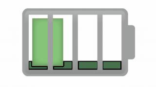 iPhoneのバッテリー残量の表示をパーセント表記にする方法