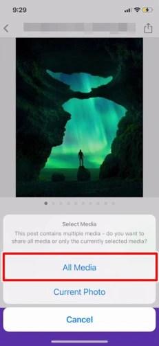 アプリでInstagram(インスタグラム)の画像を保存する (10)