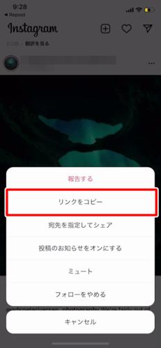 アプリでInstagram(インスタグラム)の画像を保存する (3)