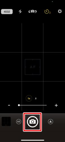 iPhoneのカメラアプリをインストールしてセルフタイマーを使用する (3)