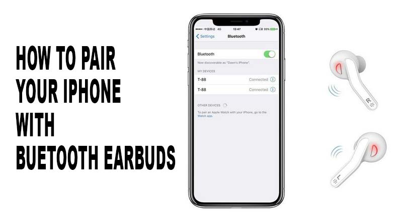 How to Pair iPhone XR with Bluetooth Earbuds Less in 3 Minutes