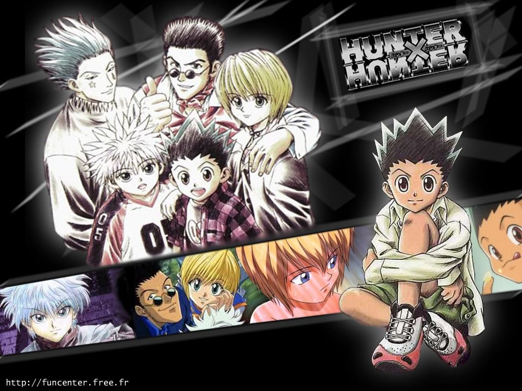I can't be the only one who likes to throw up a wallpaper of my favorite characters from a show on my. Hunter X Hunter All Characters Anime Like a Family ...