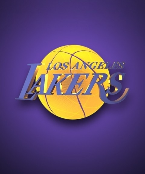 Los Angeles Iphone X Wallpaper Nba Los Angeles Lakers Team Logo Purple Background Hd For