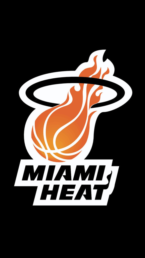 Iphone X Miami Wallpaper Nba Miami Heat Team Logo Images Pictures Hd Iphone 5