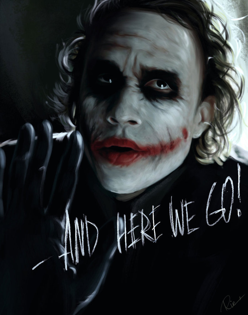 joker by maryriotjane on