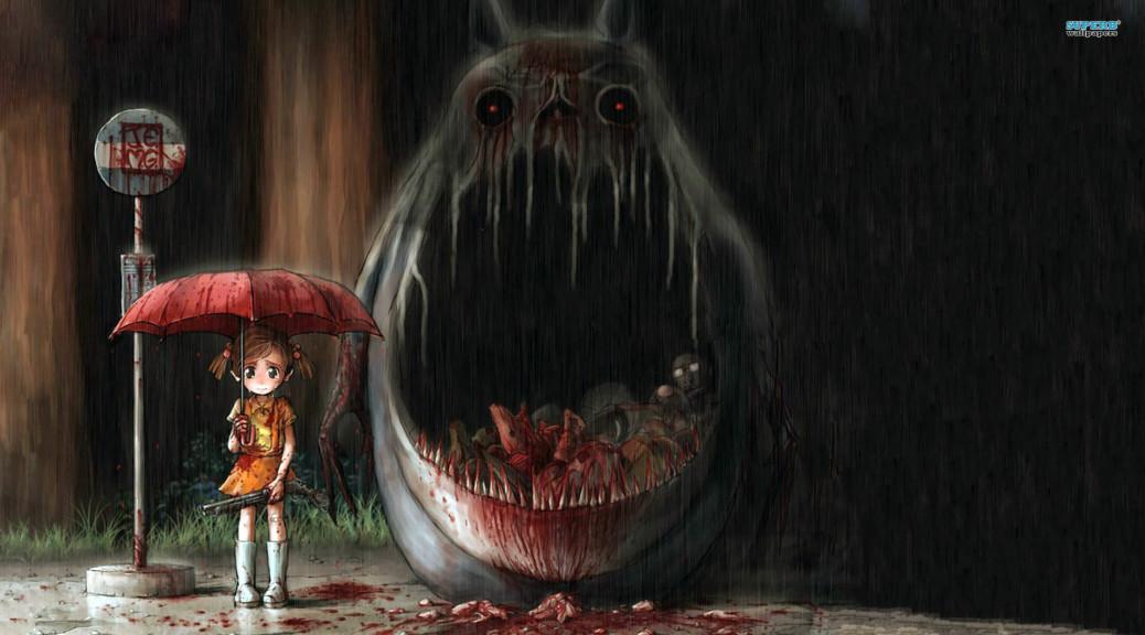 Young Girls Horror Wallpaper Girl Monster 15240 1920 215 1080 Jpg