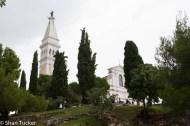 Church in Rovinj, Croatia