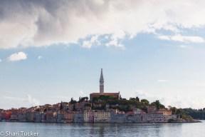 Rovinj, Croatia from the sea