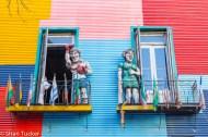 La Boca statues, Buenos Aires