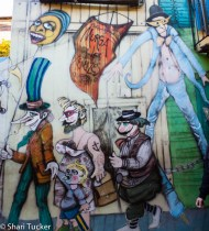 La Boca art, Buenos Aires